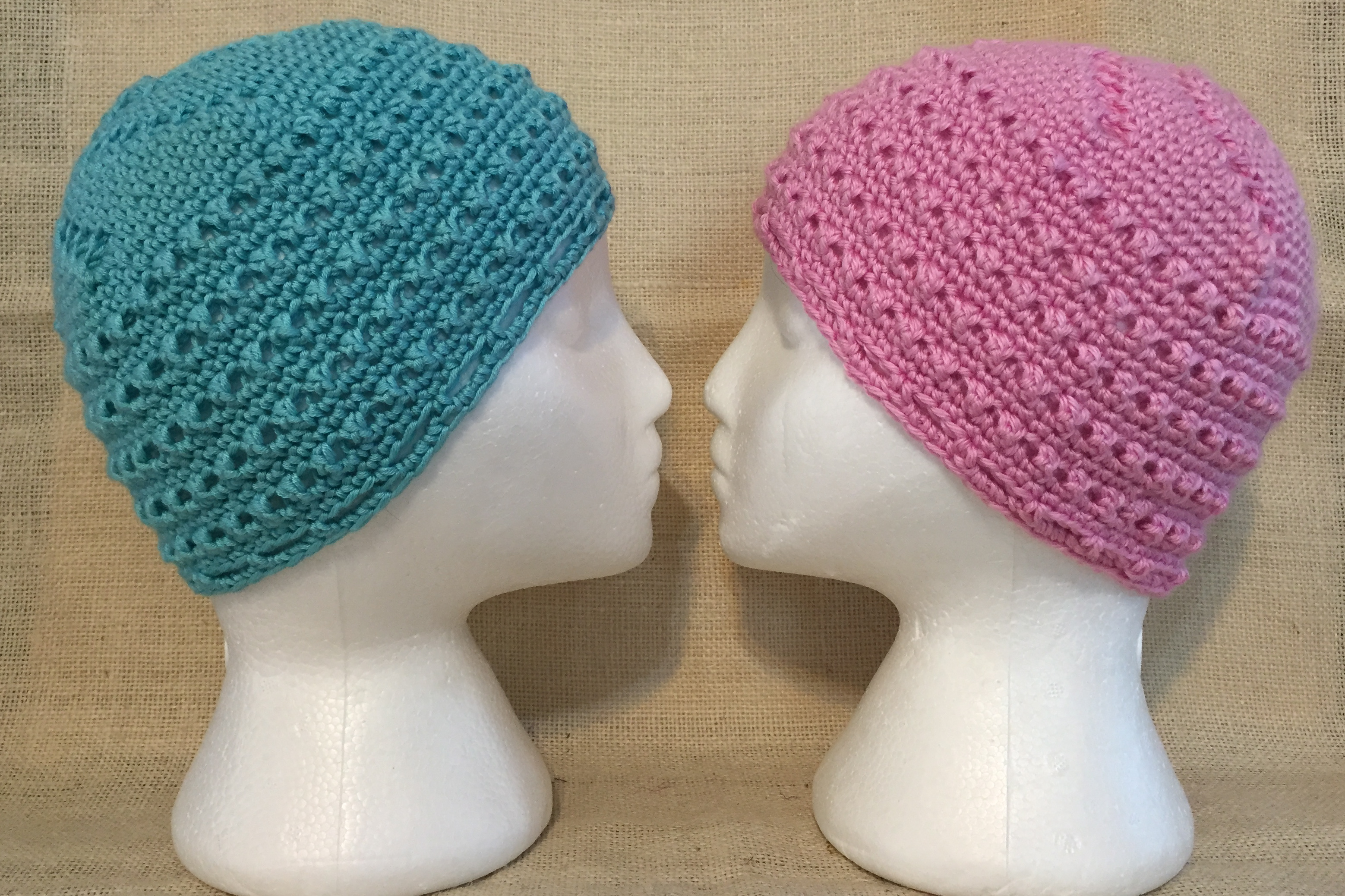 Crochet Hat Patterns Free Cancer Patients : chemo caps bonnyknits