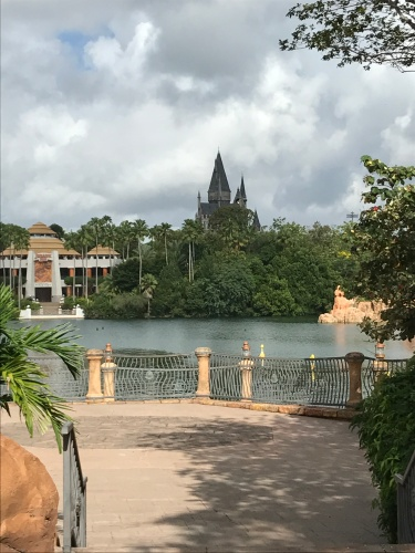 First glimpse of Hogwarts